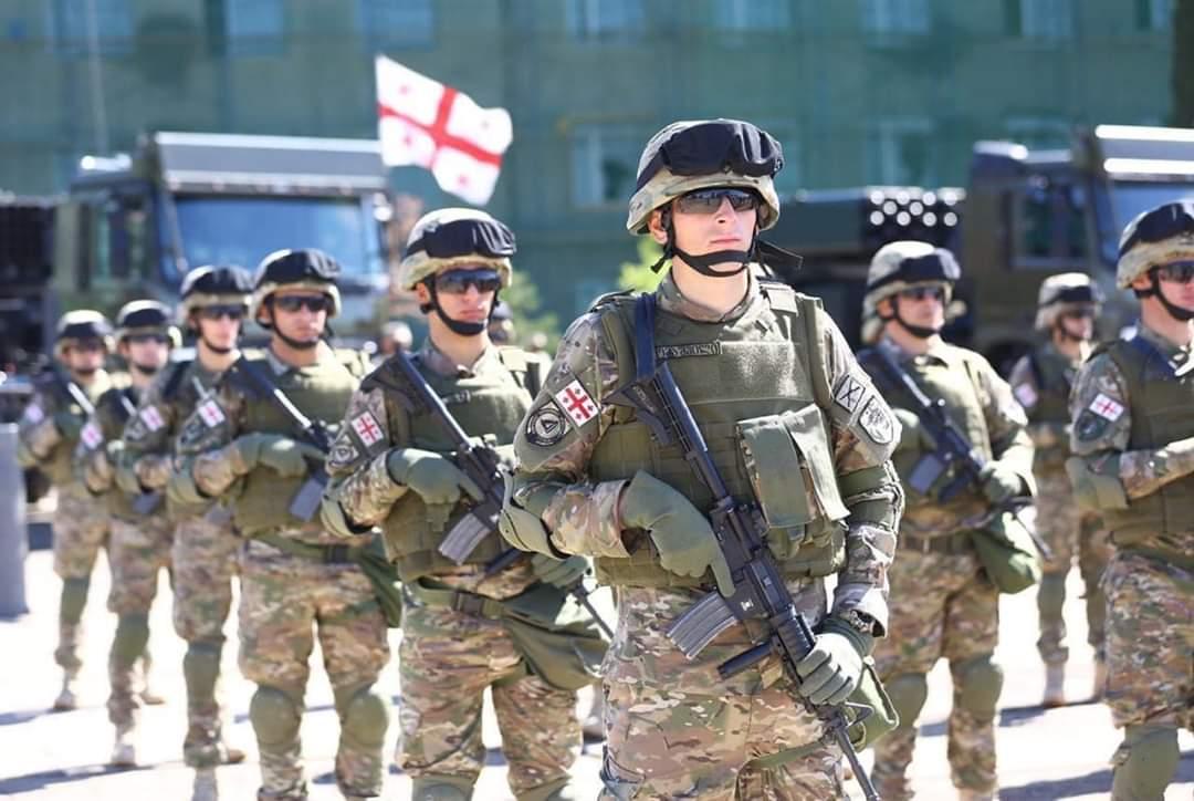 Slider-Gürcüstan ordusunun xüsusi texnikası yenilənir