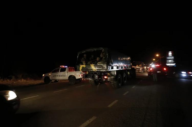 Slider-Marneuliyə hərbi qüvvələr cəlb edildi - VİDEO