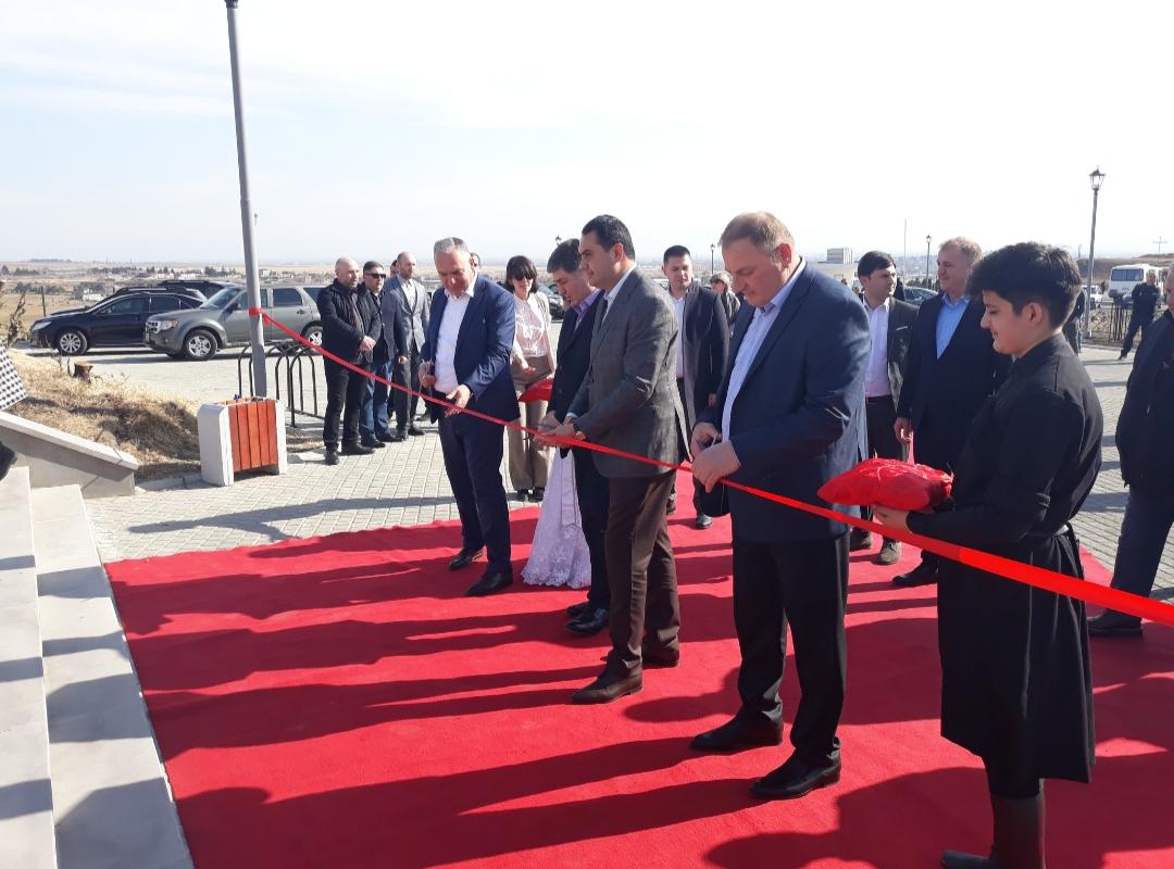 Slider-Marneulidə bu gün yeni parkın açılışı baş tutdu - FOTO