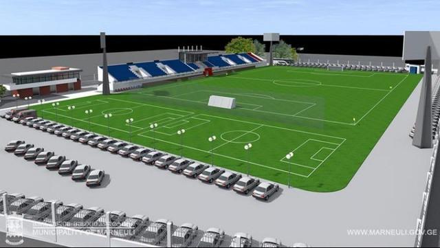Slider-Marneulidə mərkəzi stadion FİFA standartlarına uyğun bərpa olunacaq