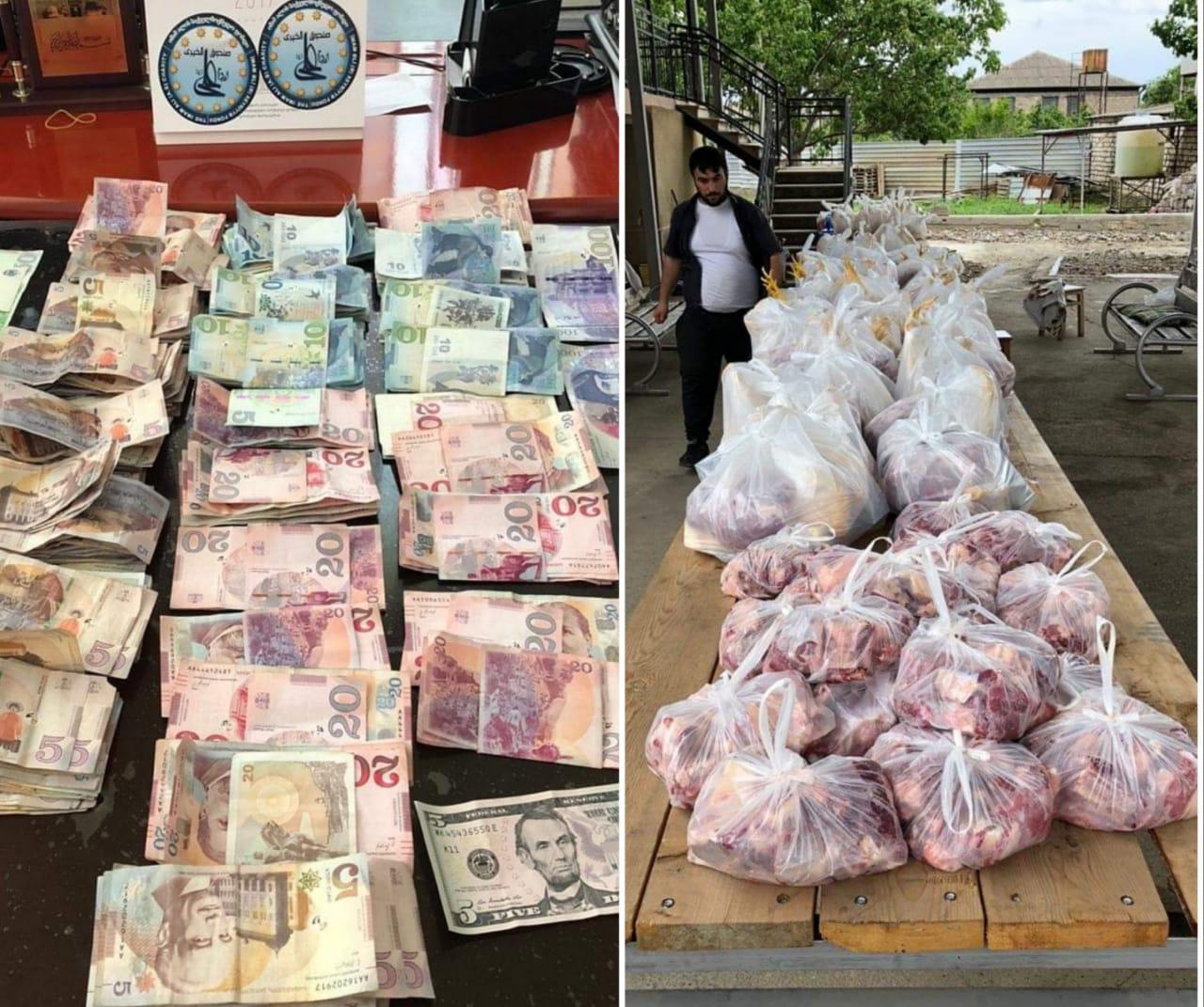Slider-İmam Əli (ə) xeyriyyə fondu 250-dən çox aztəminatlı ailəni sevindirdi - FOTO