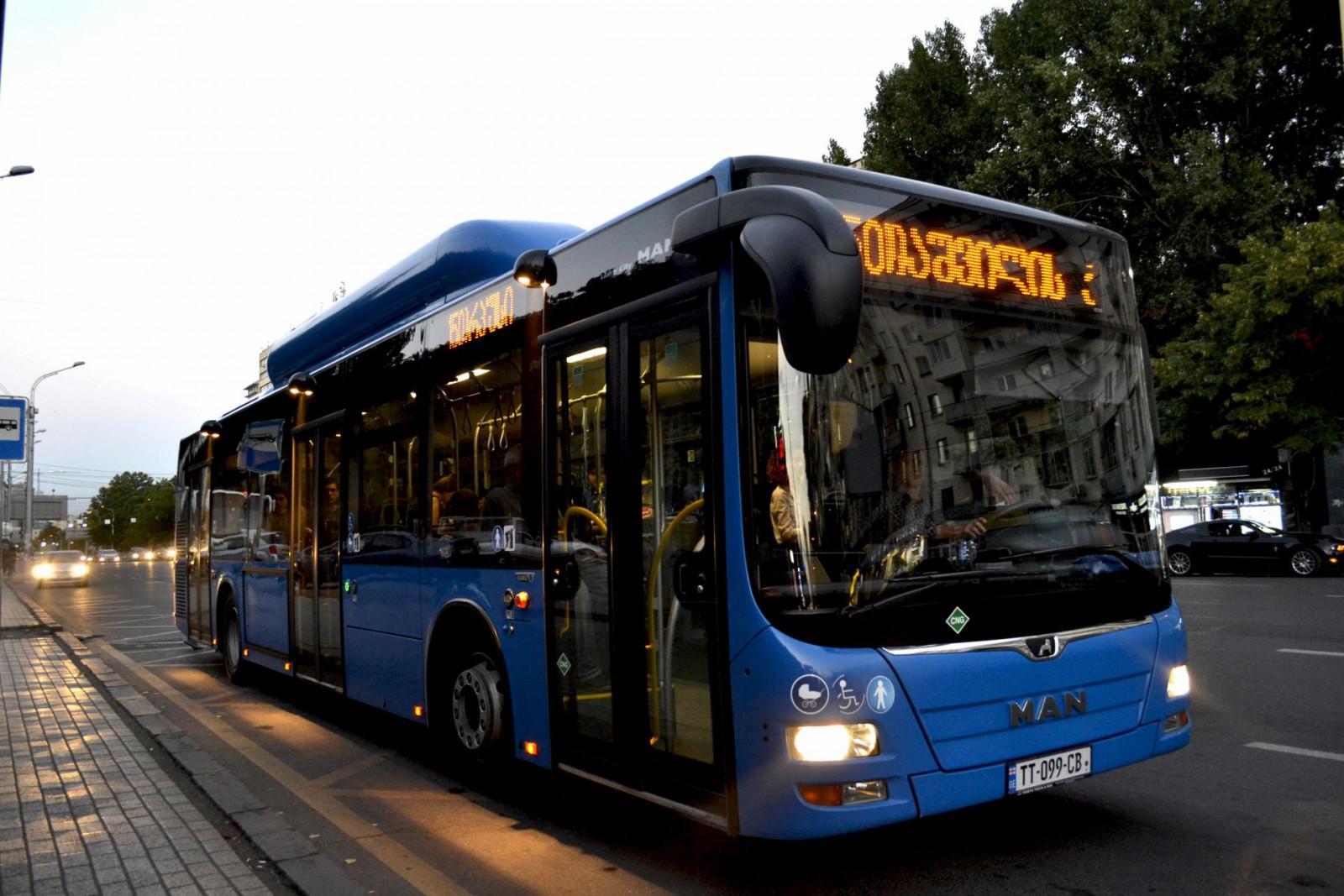 Slider-Gürcüstanın altı şəhərində yeni avtobuslar peyda olacaq