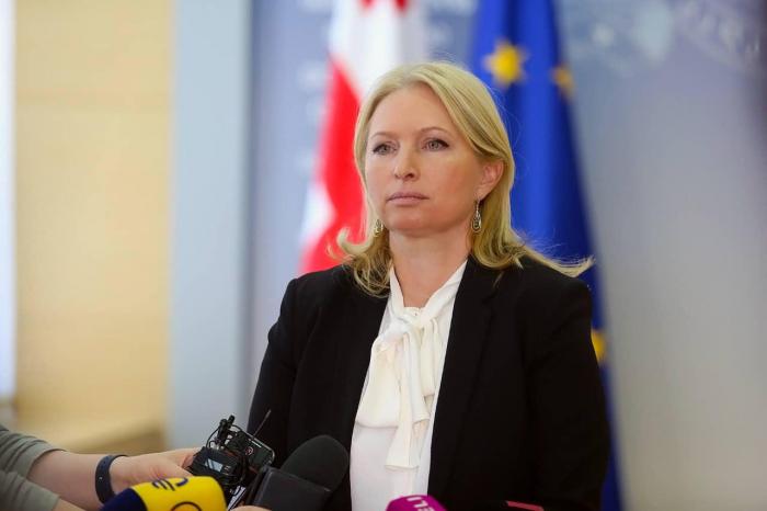 """Slider-Natiya Turnava: """"Hamınızı Gürcüstan kurortlarını fəal ziyarət etməyə çağırıram"""""""