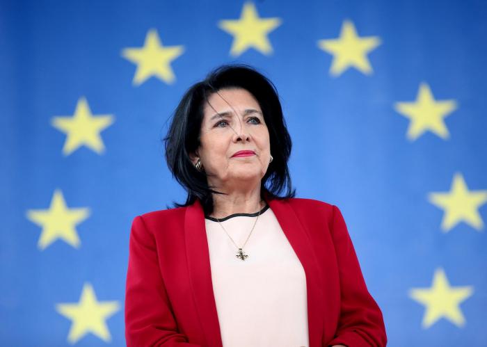 Slider-Gürcüstan prezidenti ölkənin müsəlman vətəndaşlarını təbrik edib